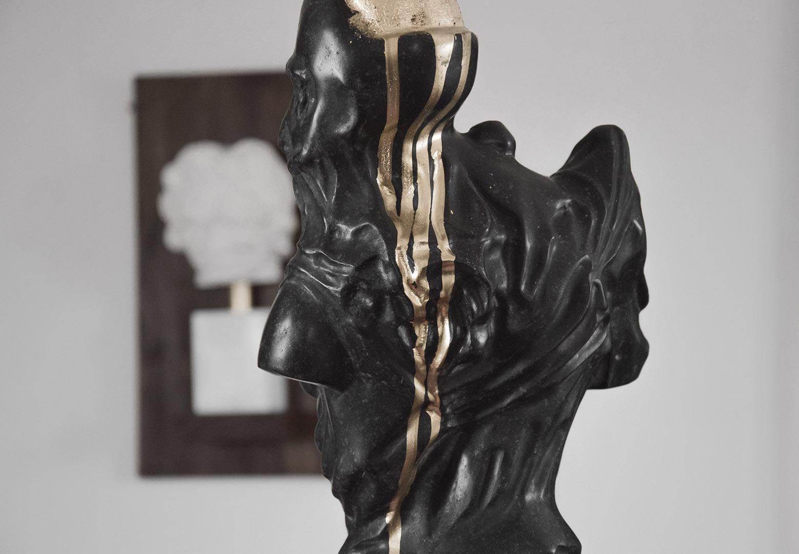 Golden-Head-Detail-2019-KalksteinskulpturGraffiti-24x17x58cm-8.700€
